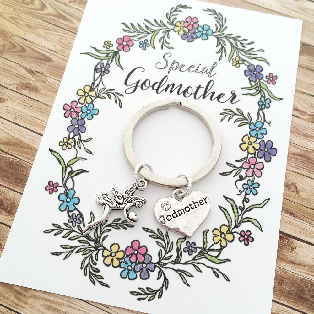 Special Fairy Godmother keyring