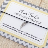 Angel Wing Pregnancy Bracelet