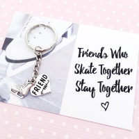 Ice Skating Friends Forever gift