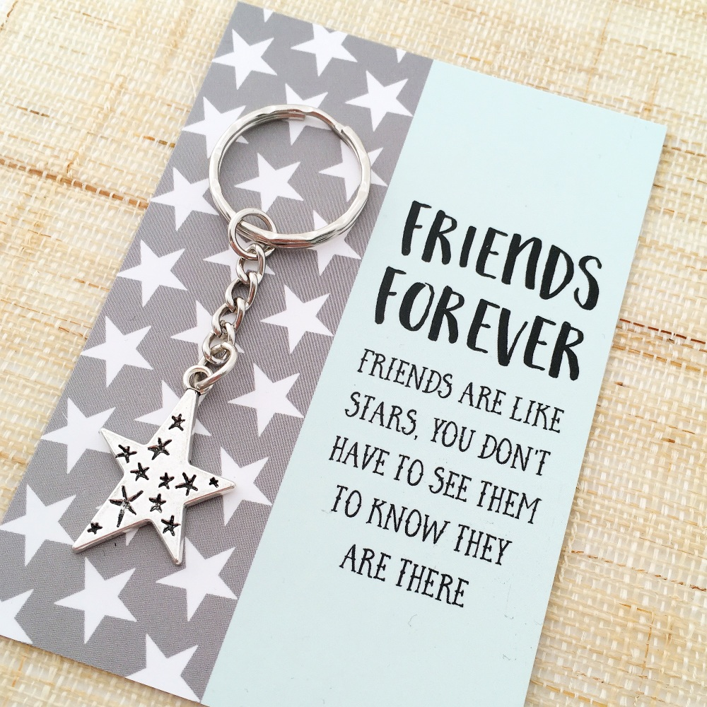 Friends forever star gift