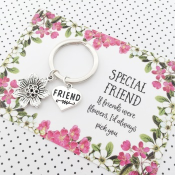 If friends were flowers gift