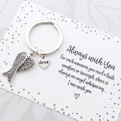 Always with you charm keyring