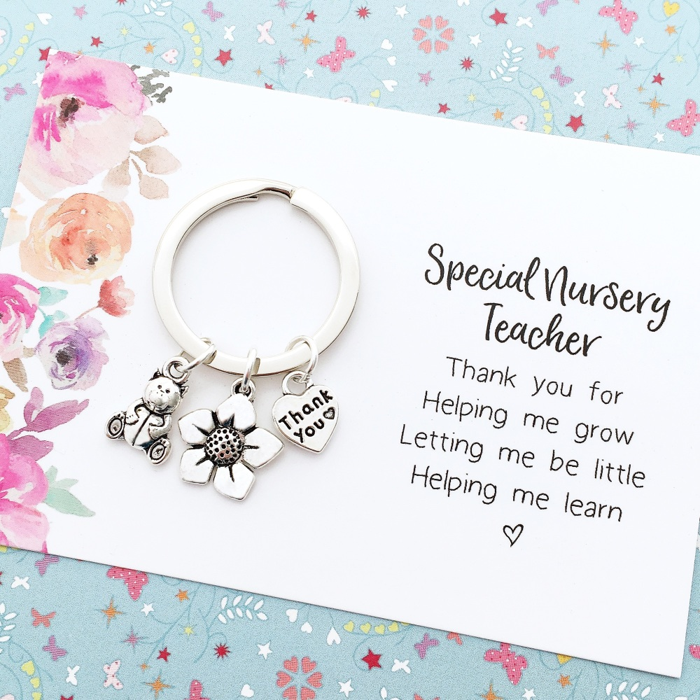 Nursery teacher thank you
