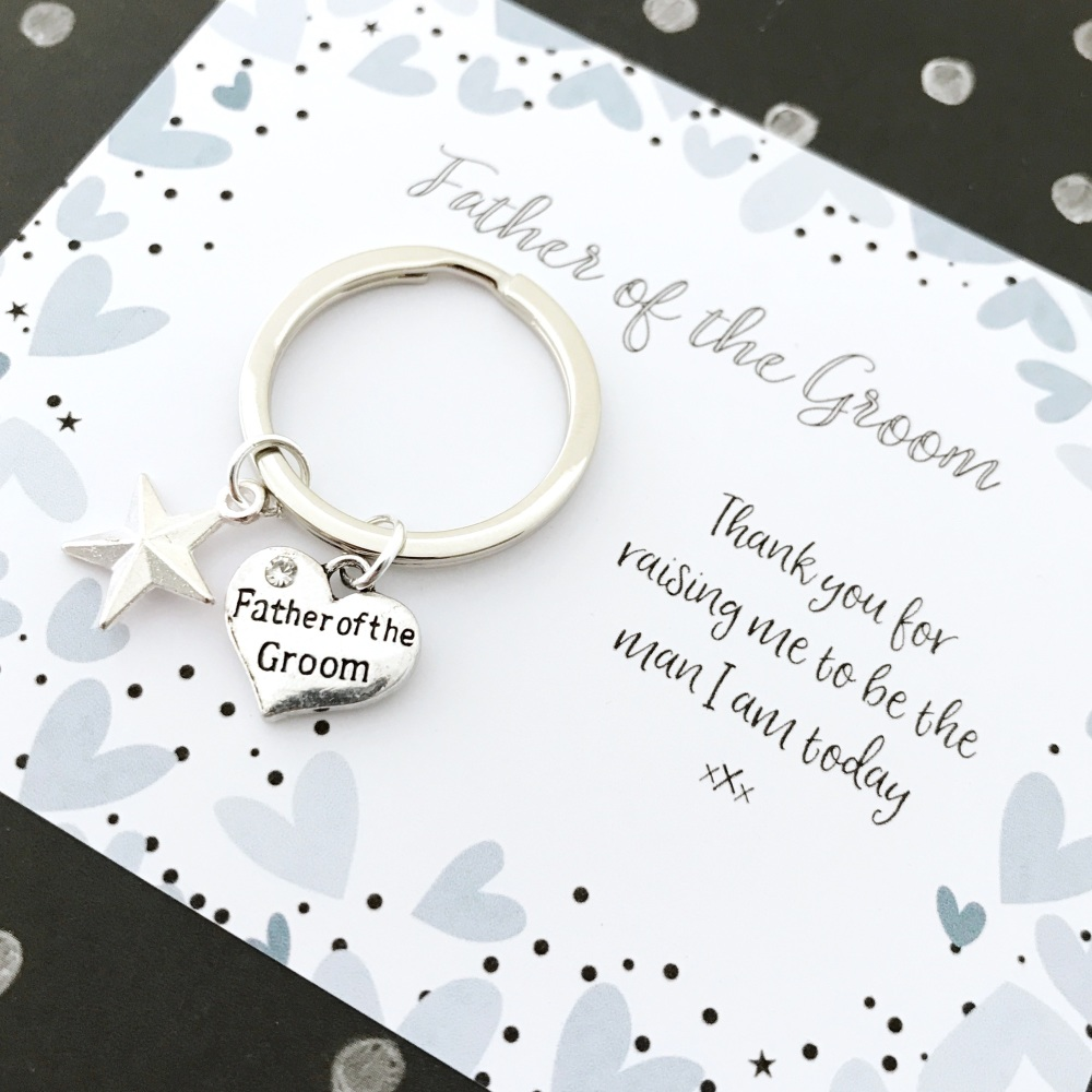 Father of the Groom wedding gift