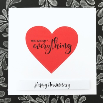 Anniversary My Everything Card