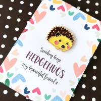 Hug Hedgehog Pin