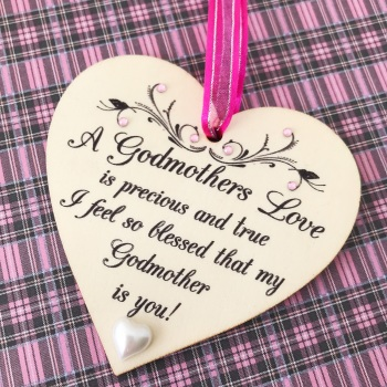 Special Godmother Heart