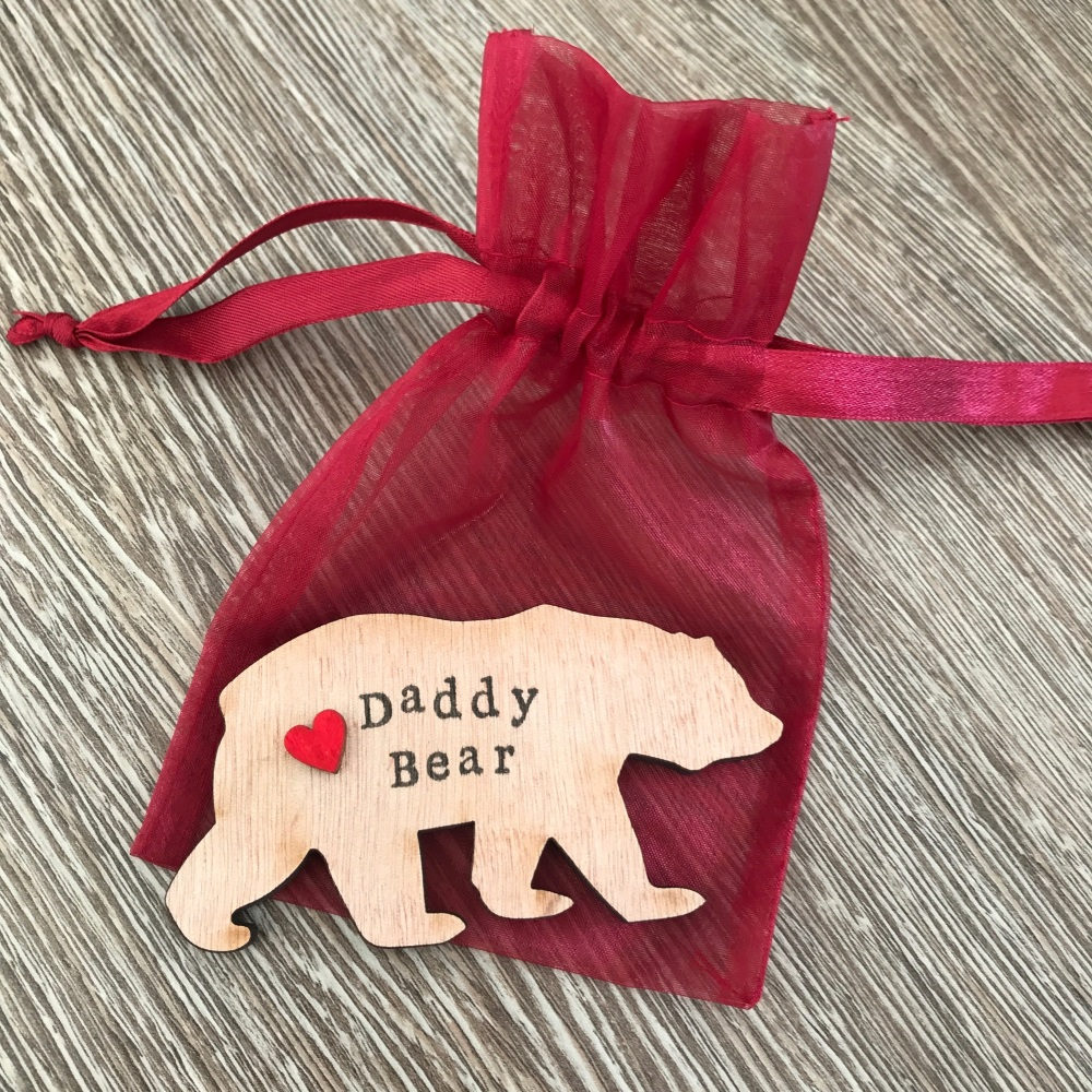 Daddy Bear magnet