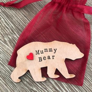 Mummy Bear Magnet