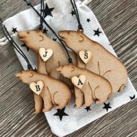 Bear Family Decorations