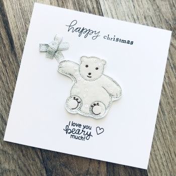 Love You Beary Much Card