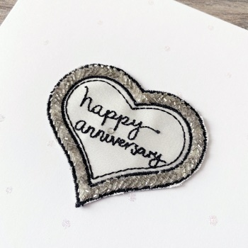 Heart Anniversary Card