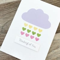 Hearts Thinking Of You Card