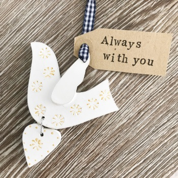 Dove Decoration Always With You