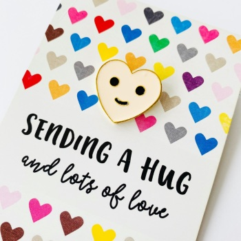 Hug Pin Gift