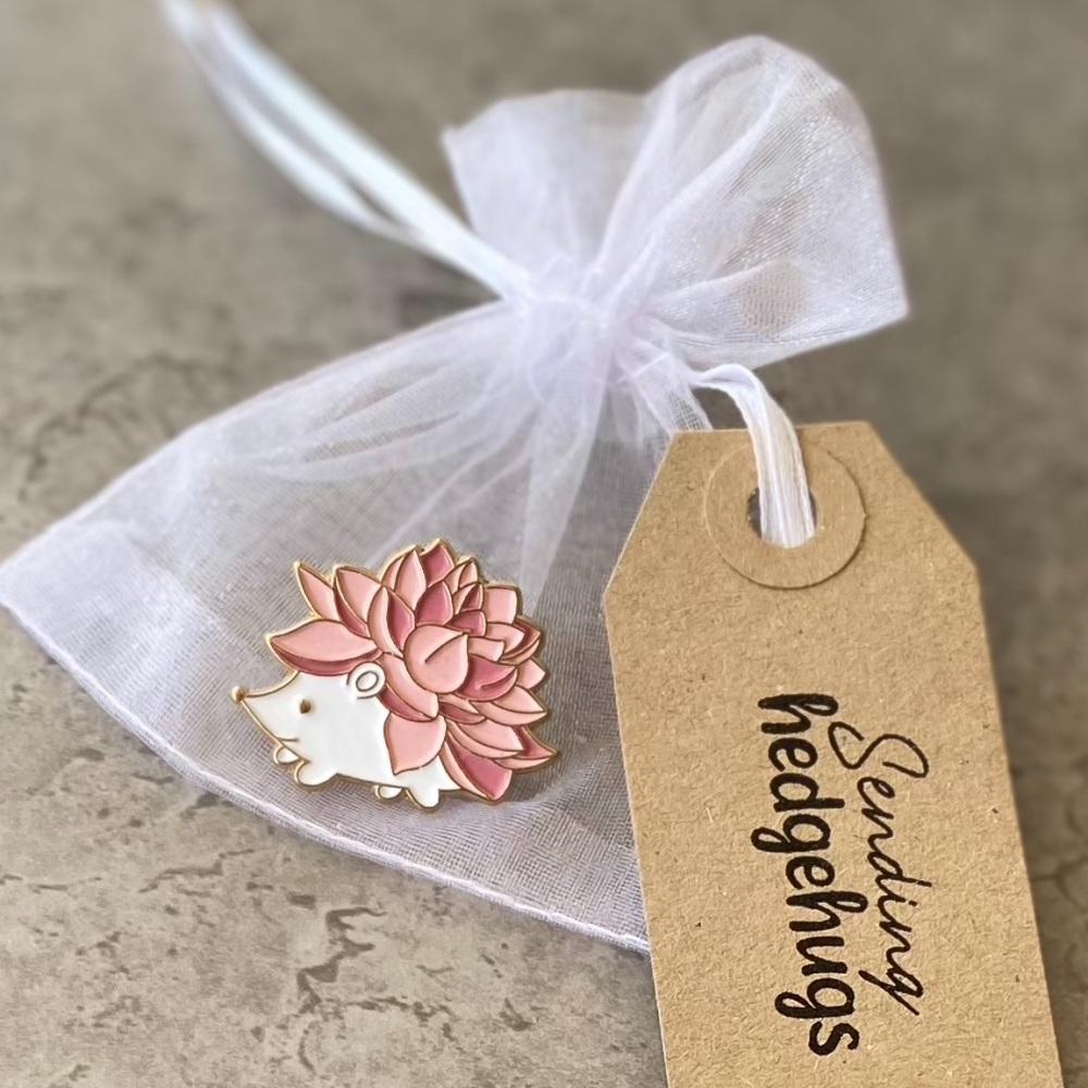 Hedgehugs Pin Gift