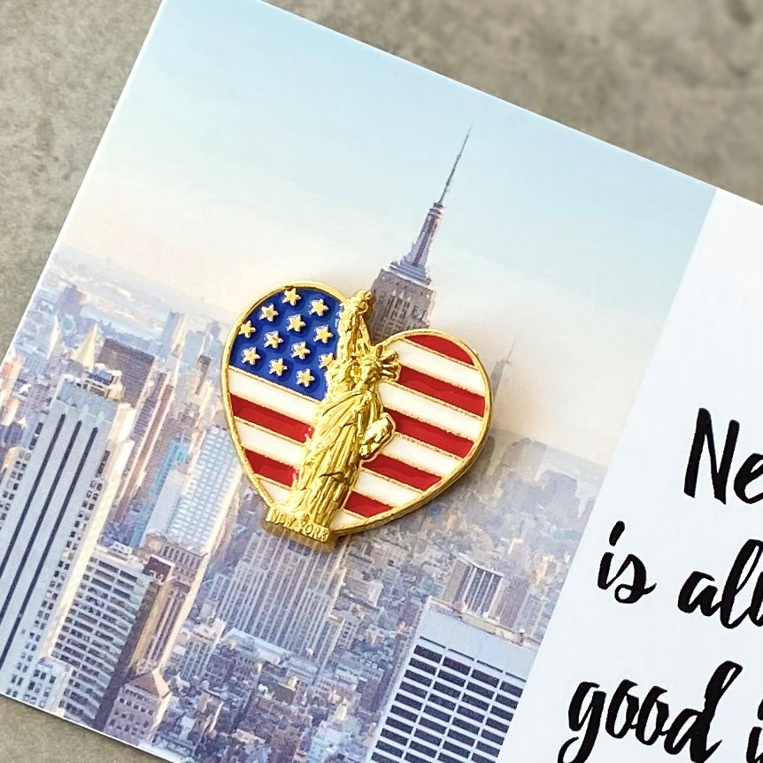 New York Is Always A Good Idea Pin