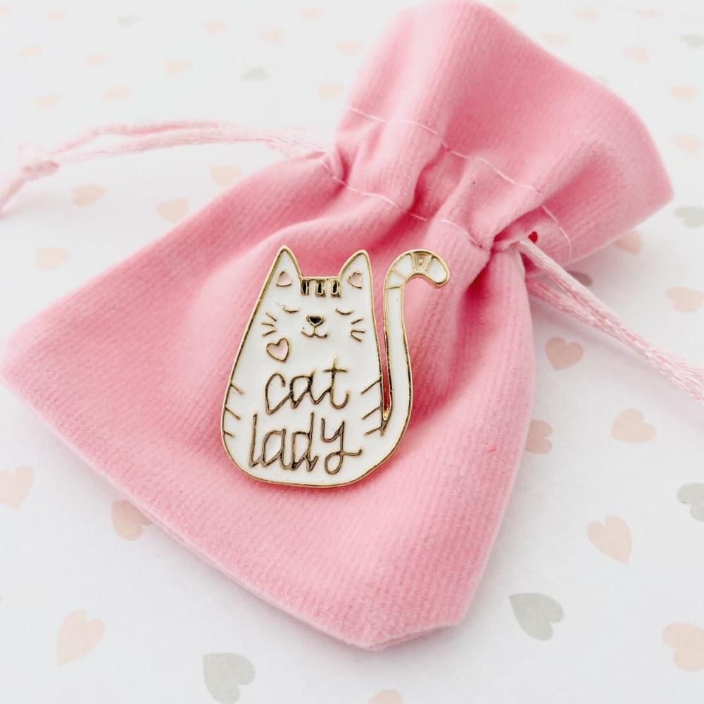 Cat Lover Pin