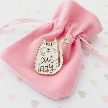 Cat Lover Gift Pin