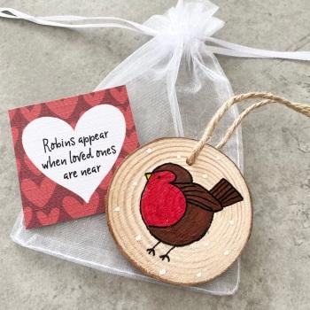 Christmas Robin Gift
