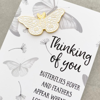Butterfly Sympathy Gift