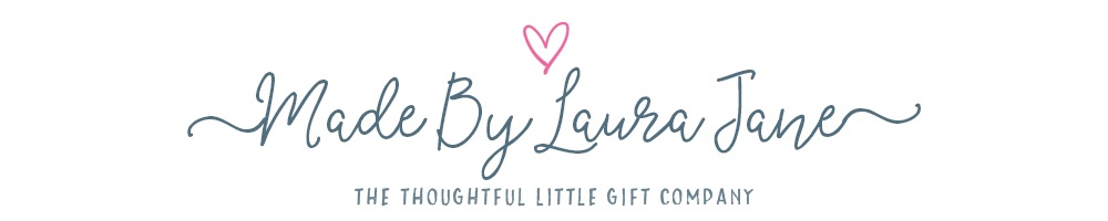Made By Laura Jane, site logo.