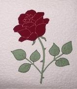 Jubilee Rose Appliqué Pattern