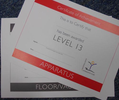Level 1 Apparatus