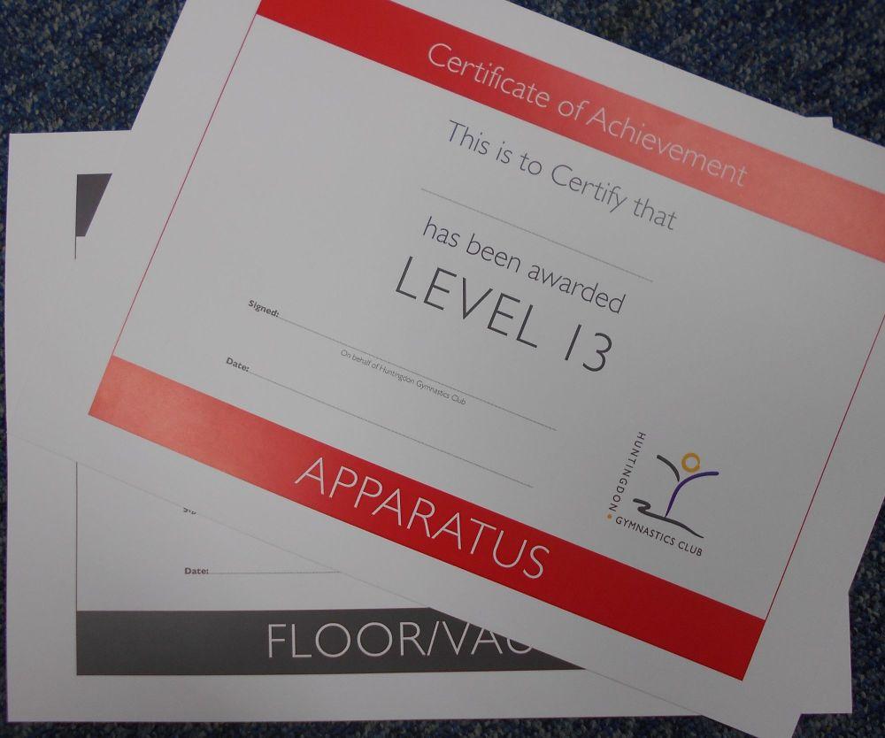 Level 4 Apparatus