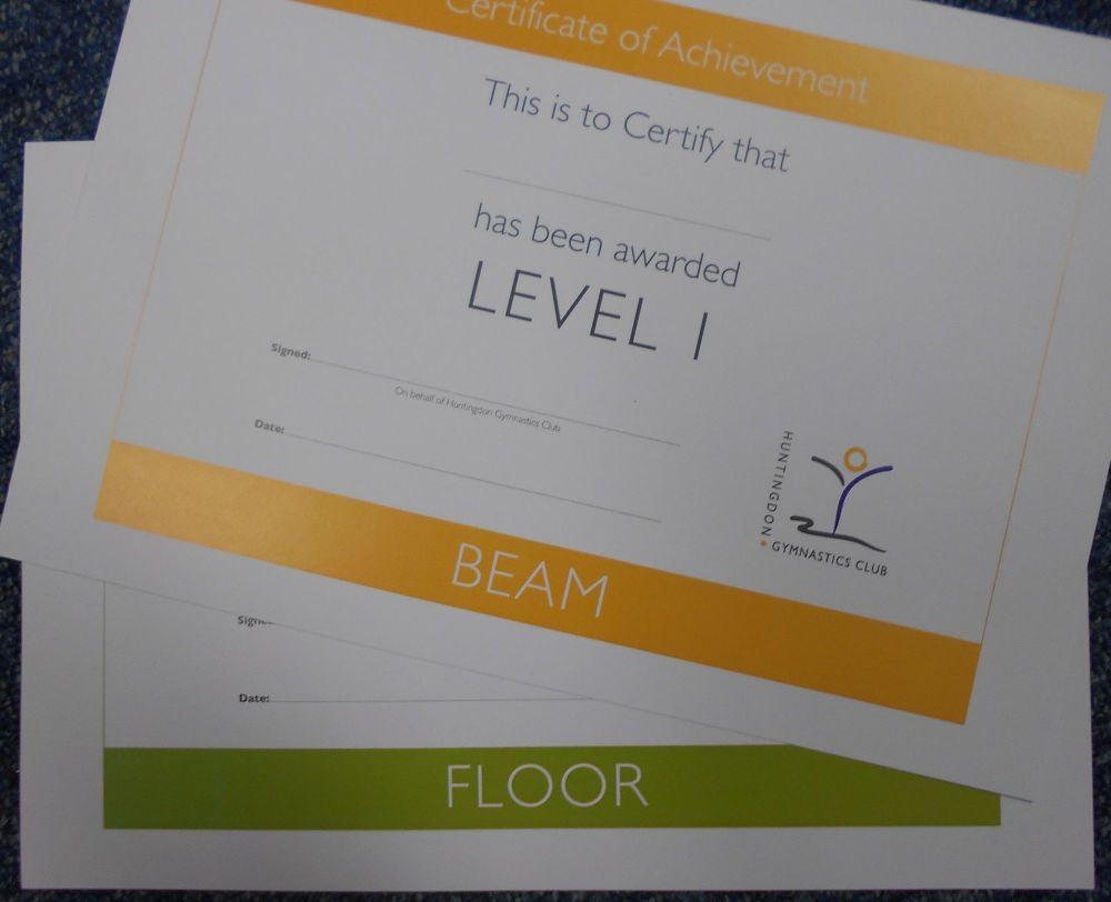 Level 1 Bar