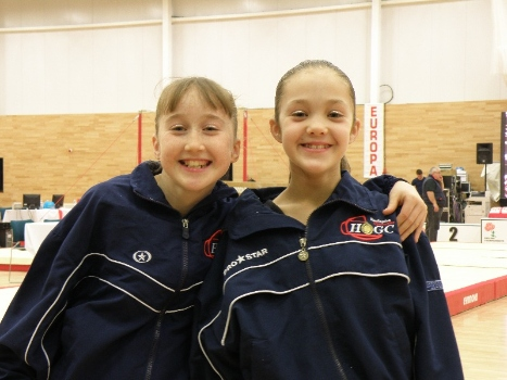 lottie smith and tilly allen selected for 2014 2015 womens england gymnasti