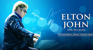 Elton John Performing Lincoln Showground