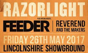 Razorlight Feeder Concert 2017 Lincoln Showground