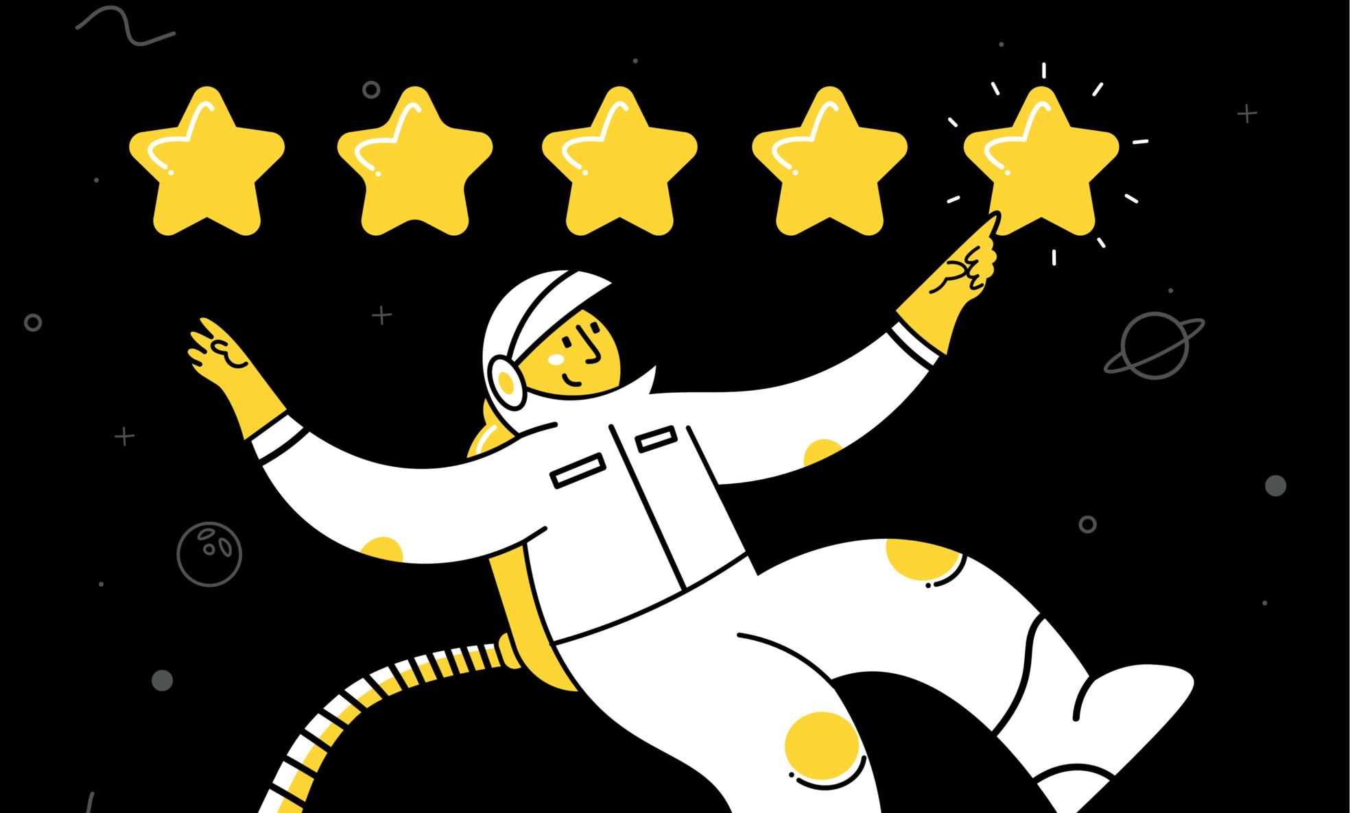 Astronaut Five Star Reiew