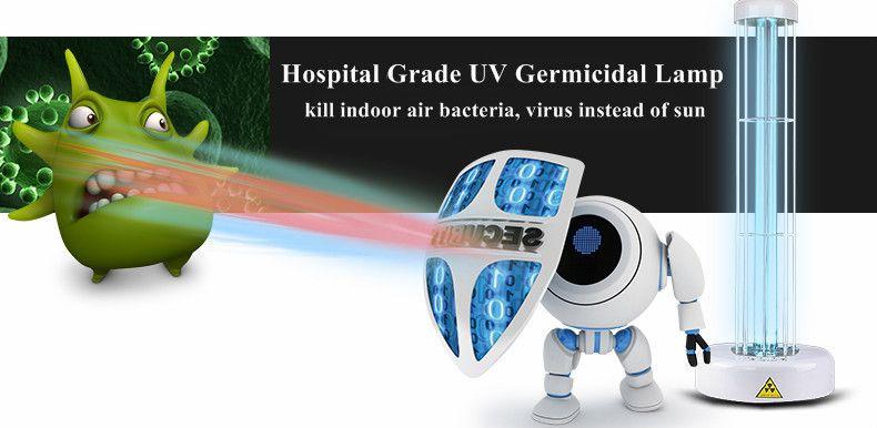 Hospital Grade UV Germicdal Lamp