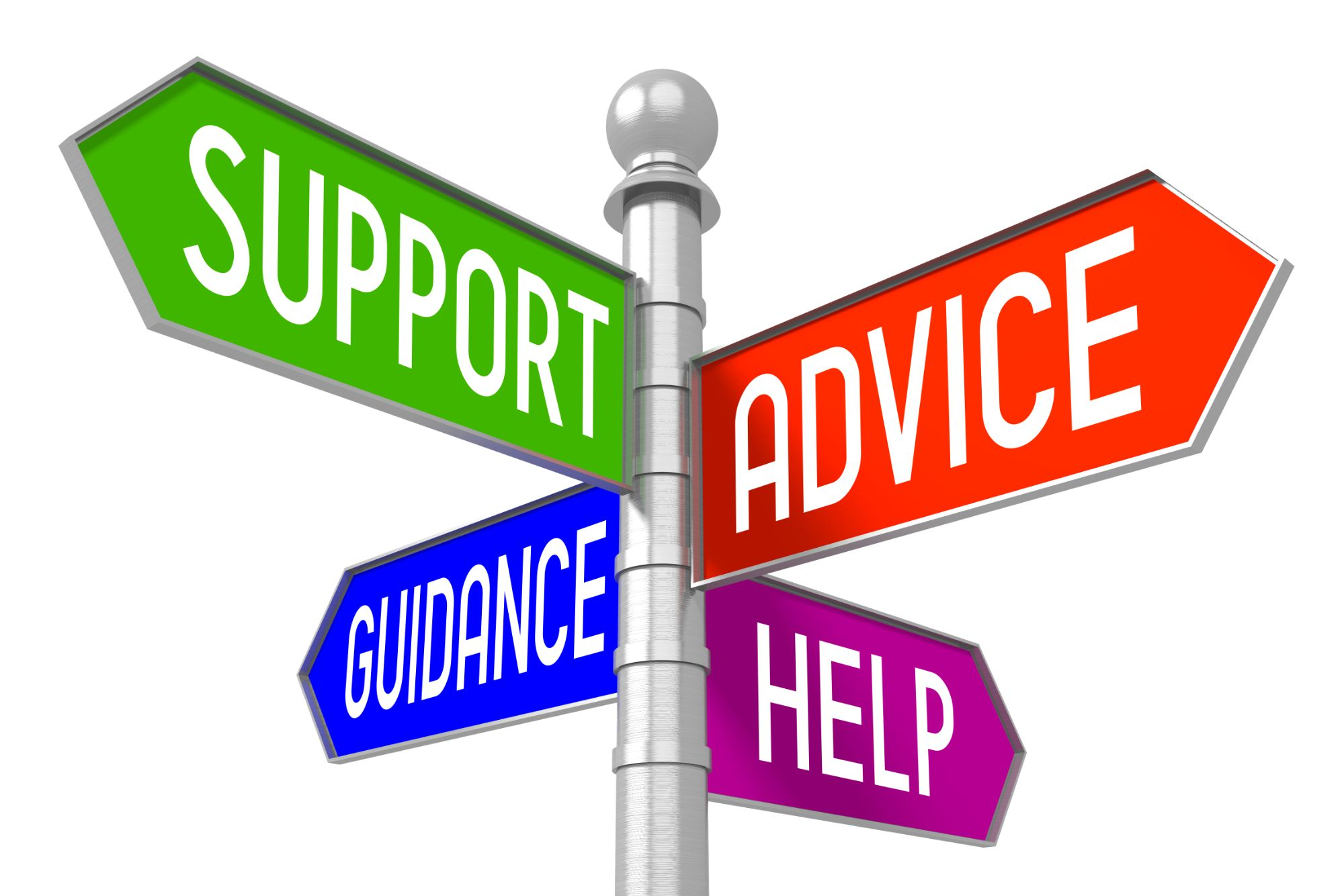 Sign Support Guidance Advice Help