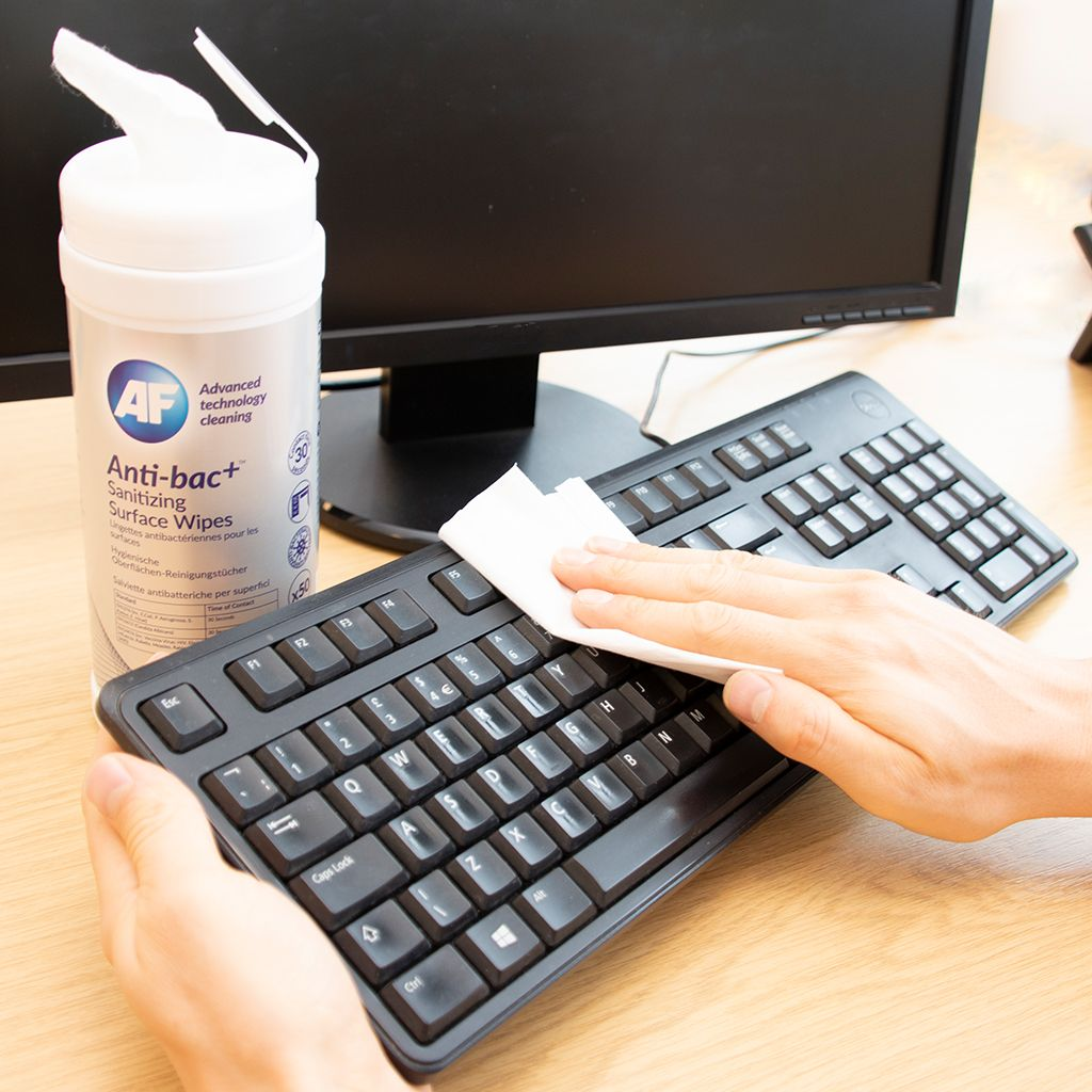 Disinfecting Keyboard