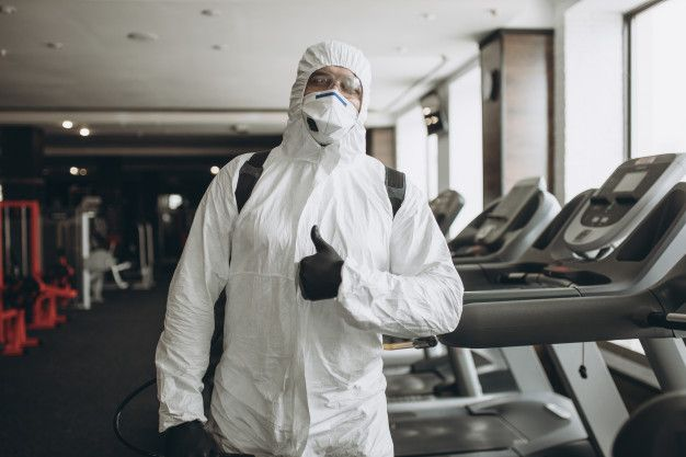 Disinfecting Gym