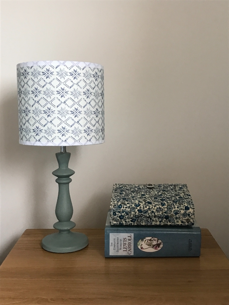 Fair Isle Small Print lampshade