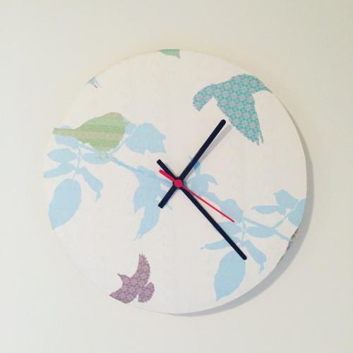 Clock - Shetland Starling