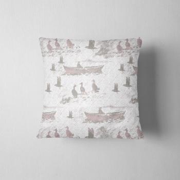 Aff At Da Eela - Luxury Shetland Tweed Cushion