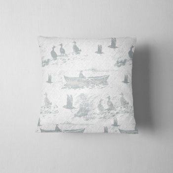 Aff At Da Eela - luxury Hand made cushion