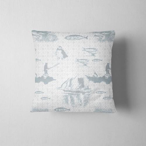 Luxury Shetland Tweed - Tammie Norie Fishing