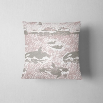 Da Shore Side - Luxury Shetland Tweed Cushion