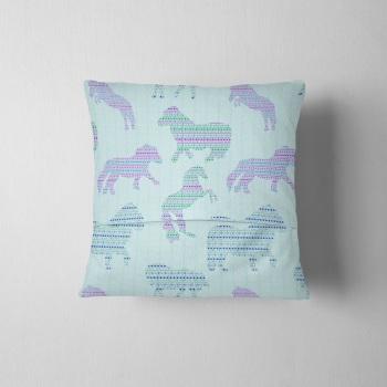 Fair Isle Dancing Ponies - Original Cushion