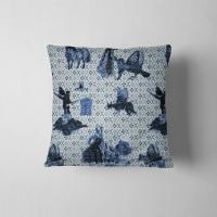 Surreal Shetland - Velvet Cushion