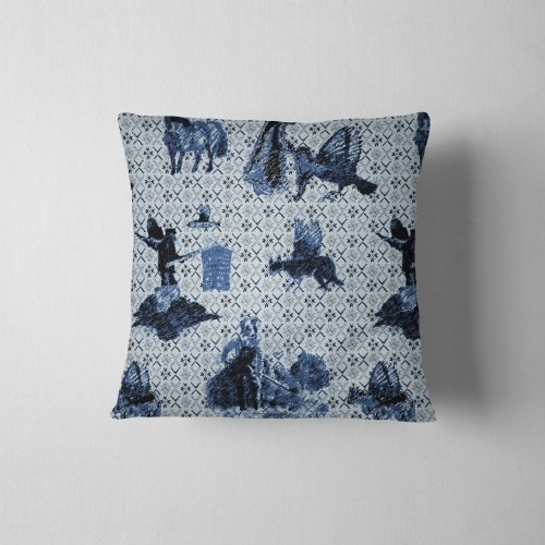 Surreal Shetland - Velvet Cushion
