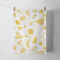 Tak Dee Sock - Tea Towel