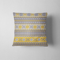 Granny's Fairisle- Cushion