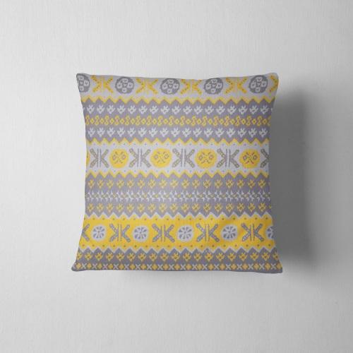 Granny's Fairisle- Cushion